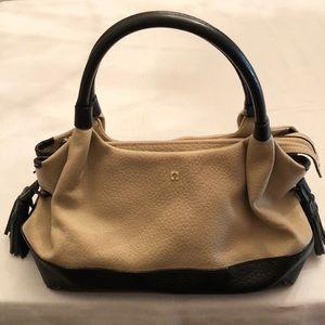 Kate Spade Tan & Black Shoulder Bag